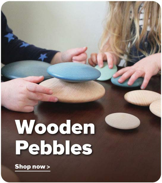Wooden Pebbles
